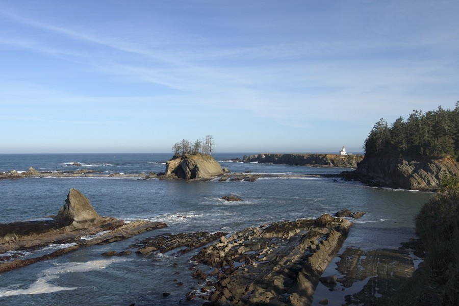 Arago Lighthouse, OR  Photo: Ben Nieves