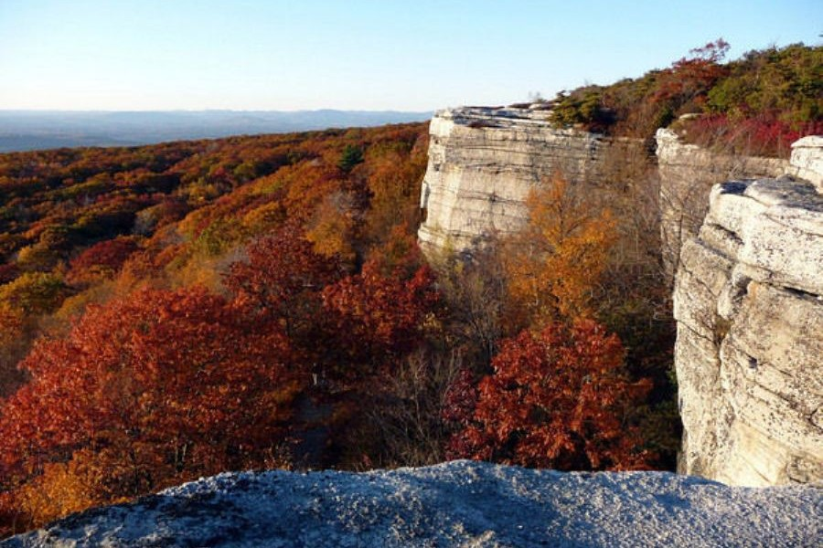 Photo-Gunks Rock Outcrops