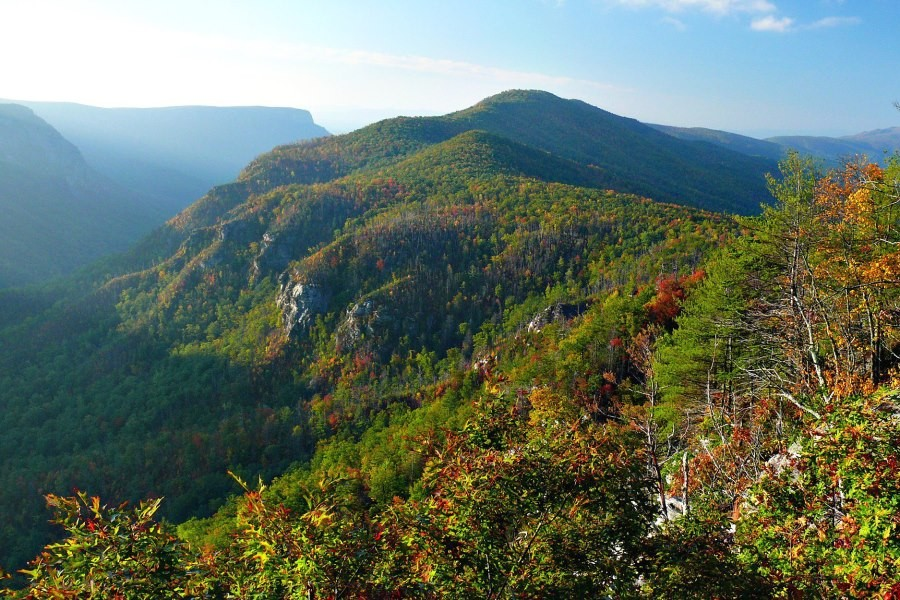 Linville Gorge Wilderness Area, Pisgah National Forest, NC