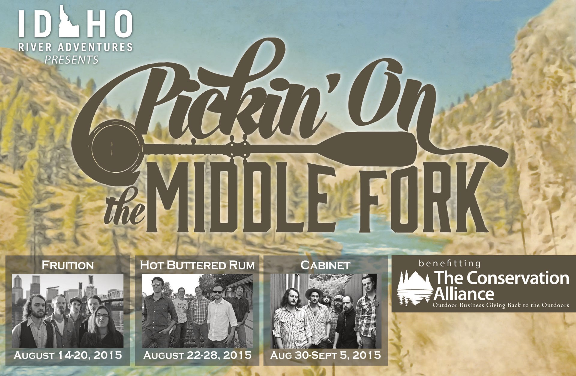 Pickin on the Middle Fork