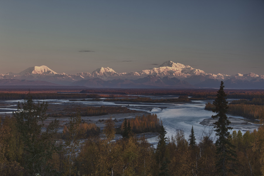 Denali Sunset, AK   Photo:  Colby Coombs