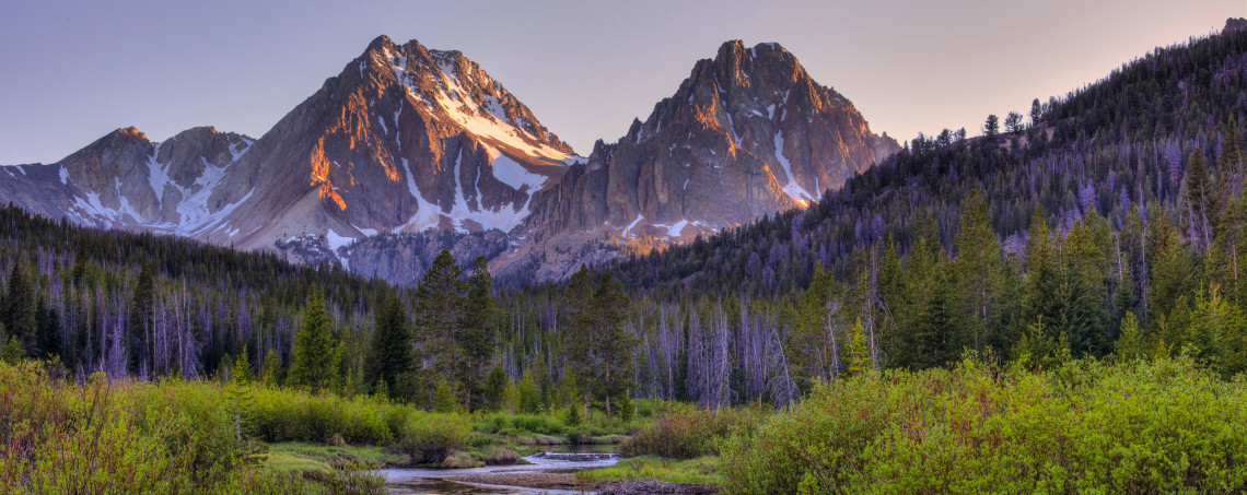 Boulder White Clouds Wilderness, Idaho   Photo:  Ed Cannady