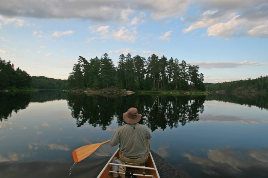 Boundary Waters Canoe Area Wilderness, MN  Photo:  Brian OKeefe