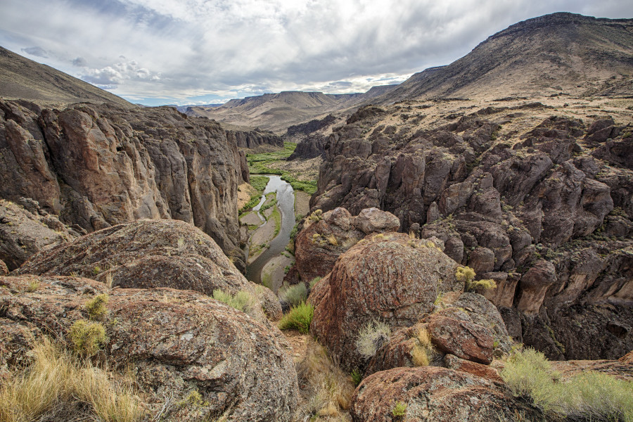 Owyhee Canyonlands, OR  Photo:  BLM