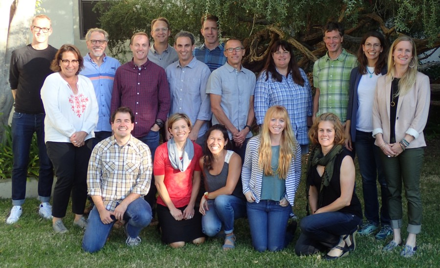 The Conservation Alliance Board and Staff, November 2016,  Santa Barbara, CA